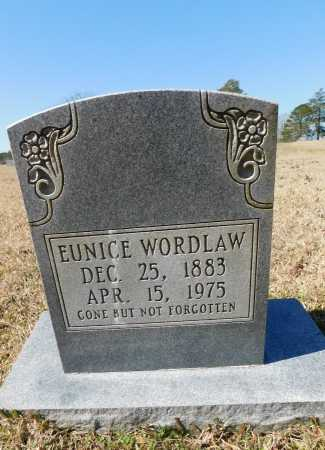 WORDLAW, EUNICE - Calhoun County, Arkansas | EUNICE WORDLAW - Arkansas Gravestone Photos