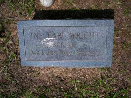 WRIGHT, EARL - Calhoun County, Arkansas   EARL WRIGHT - Arkansas Gravestone Photos