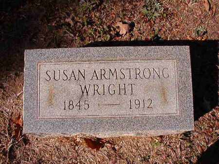 WRIGHT, SUSAN - Calhoun County, Arkansas | SUSAN WRIGHT - Arkansas Gravestone Photos
