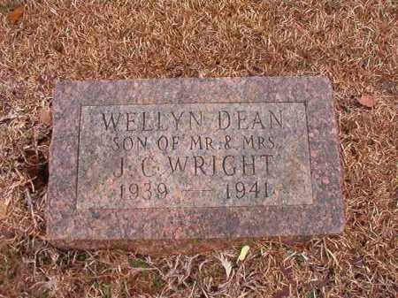 WRIGHT, WELLYN DEAN - Calhoun County, Arkansas | WELLYN DEAN WRIGHT - Arkansas Gravestone Photos