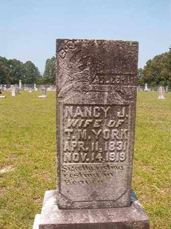 YORK, NANCY J - Calhoun County, Arkansas   NANCY J YORK - Arkansas Gravestone Photos
