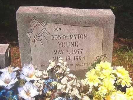 YOUNG, BOBBY MYTON - Calhoun County, Arkansas | BOBBY MYTON YOUNG - Arkansas Gravestone Photos