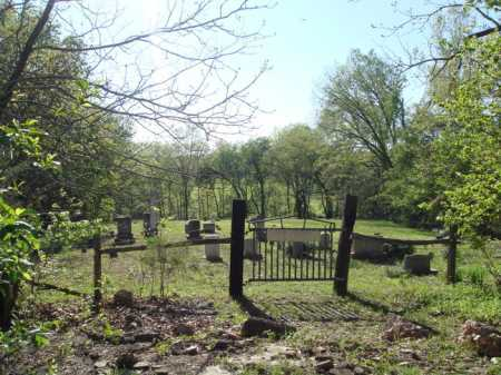 *ENON CEMETERY GATE VIEW,  - Carroll County, Arkansas |  *ENON CEMETERY GATE VIEW - Arkansas Gravestone Photos