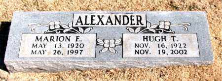 ALEXANDER, MARION E. - Carroll County, Arkansas | MARION E. ALEXANDER - Arkansas Gravestone Photos