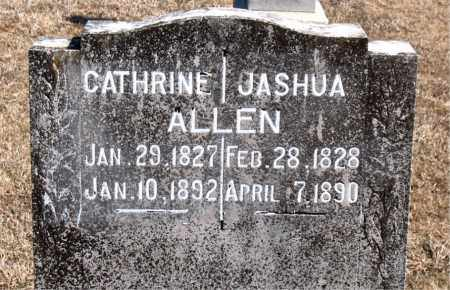 ALLEN, JASHUA - Carroll County, Arkansas | JASHUA ALLEN - Arkansas Gravestone Photos