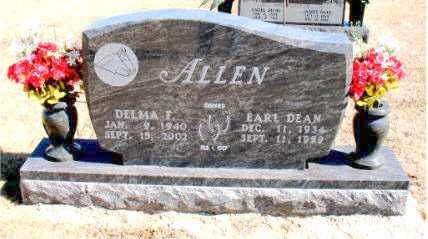 ALLEN, DELMA  F. - Carroll County, Arkansas | DELMA  F. ALLEN - Arkansas Gravestone Photos