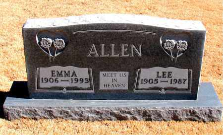 ALLEN, EMMA - Carroll County, Arkansas | EMMA ALLEN - Arkansas Gravestone Photos