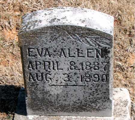 ALLEN, EVA - Carroll County, Arkansas   EVA ALLEN - Arkansas Gravestone Photos