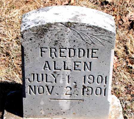 ALLEN, FREDDIE - Carroll County, Arkansas | FREDDIE ALLEN - Arkansas Gravestone Photos