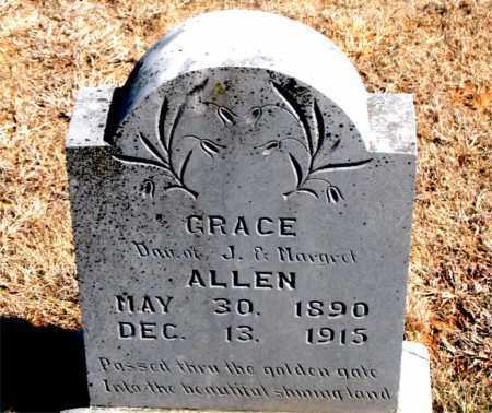 ALLEN, GRACE - Carroll County, Arkansas   GRACE ALLEN - Arkansas Gravestone Photos