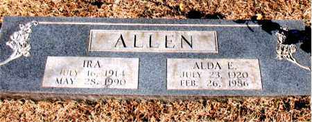 ALLEN, ALDA E. - Carroll County, Arkansas | ALDA E. ALLEN - Arkansas Gravestone Photos