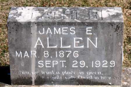 ALLEN, JAMES E - Carroll County, Arkansas | JAMES E ALLEN - Arkansas Gravestone Photos