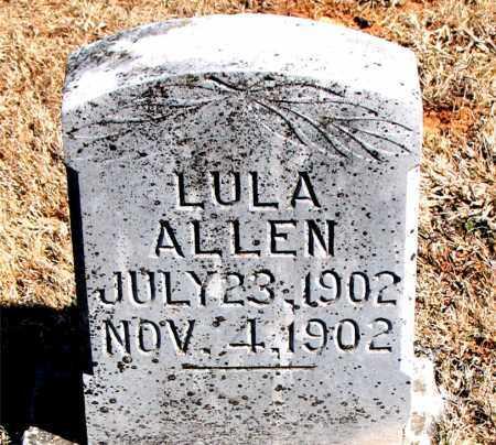 ALLEN, LULA - Carroll County, Arkansas | LULA ALLEN - Arkansas Gravestone Photos