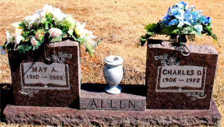 ALLEN, CHARLES  D. - Carroll County, Arkansas | CHARLES  D. ALLEN - Arkansas Gravestone Photos