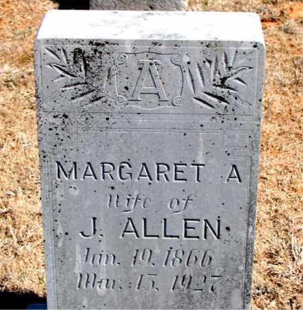 ALLEN, MARGARET A. - Carroll County, Arkansas | MARGARET A. ALLEN - Arkansas Gravestone Photos