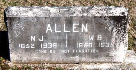 ALLEN, WILLIAM B. - Carroll County, Arkansas | WILLIAM B. ALLEN - Arkansas Gravestone Photos