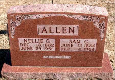 ALLEN, SAM G. - Carroll County, Arkansas | SAM G. ALLEN - Arkansas Gravestone Photos