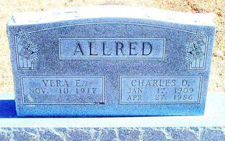 ALLRED, CHARLES D. - Carroll County, Arkansas   CHARLES D. ALLRED - Arkansas Gravestone Photos