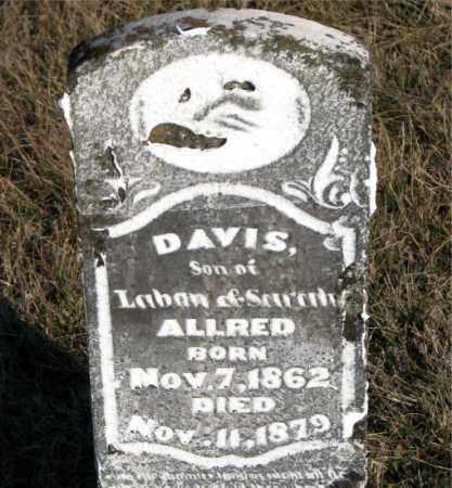 ALLRED, DAVIS - Carroll County, Arkansas   DAVIS ALLRED - Arkansas Gravestone Photos