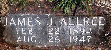ALLRED, JAMES J. - Carroll County, Arkansas | JAMES J. ALLRED - Arkansas Gravestone Photos