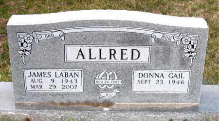 ALLRED, JAMES LABAN - Carroll County, Arkansas   JAMES LABAN ALLRED - Arkansas Gravestone Photos