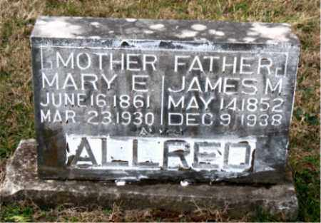 ALLRED, JAMES  M. - Carroll County, Arkansas | JAMES  M. ALLRED - Arkansas Gravestone Photos