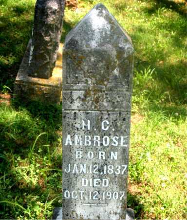 AMBROSE, HENRY CLARK - Carroll County, Arkansas | HENRY CLARK AMBROSE - Arkansas Gravestone Photos
