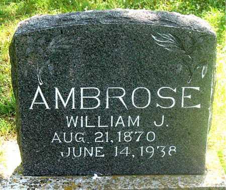 AMBROSE, WILLIAM J. - Carroll County, Arkansas   WILLIAM J. AMBROSE - Arkansas Gravestone Photos