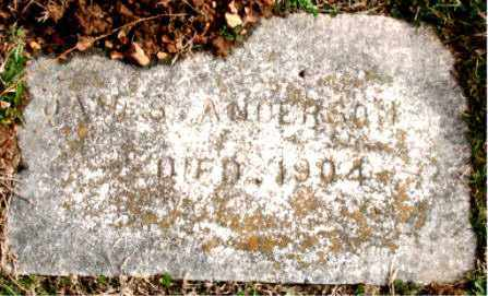 ANDERSON, JAMES - Carroll County, Arkansas | JAMES ANDERSON - Arkansas Gravestone Photos