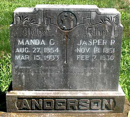 ANDERSON, MANDA C. - Carroll County, Arkansas | MANDA C. ANDERSON - Arkansas Gravestone Photos