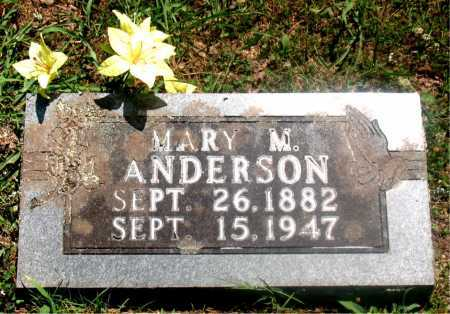 ANDERSON, MARY MELISSA - Carroll County, Arkansas | MARY MELISSA ANDERSON - Arkansas Gravestone Photos