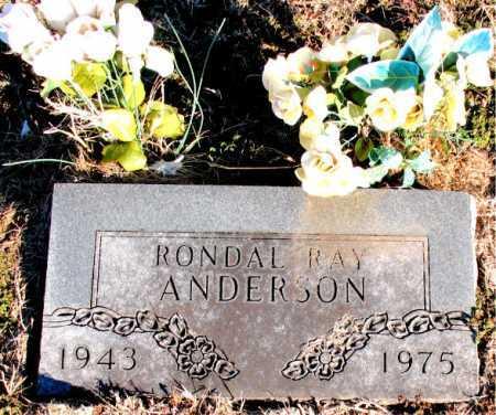 ANDERSON, RONDAL RAY - Carroll County, Arkansas | RONDAL RAY ANDERSON - Arkansas Gravestone Photos