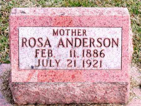 ANDERSON, ROSA - Carroll County, Arkansas | ROSA ANDERSON - Arkansas Gravestone Photos