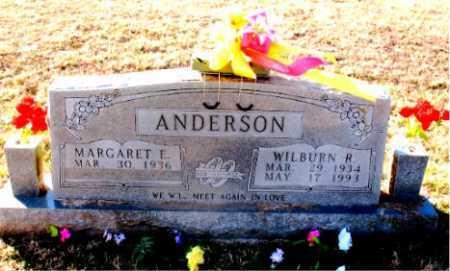 ANDERSON, WILBURN R. - Carroll County, Arkansas | WILBURN R. ANDERSON - Arkansas Gravestone Photos