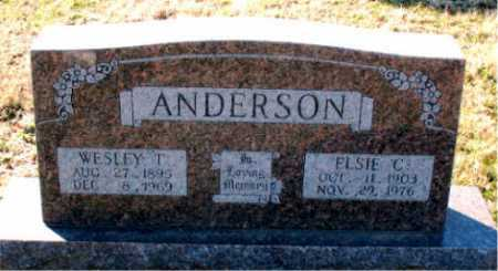 ANDERSON, ELSIE C - Carroll County, Arkansas | ELSIE C ANDERSON - Arkansas Gravestone Photos