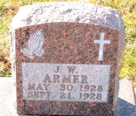 ARMER, J. W. - Carroll County, Arkansas | J. W. ARMER - Arkansas Gravestone Photos