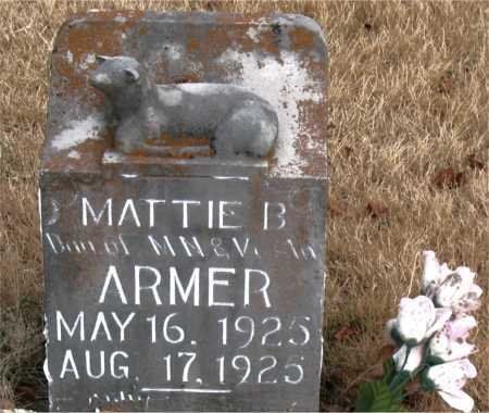 ARMER, MATTIE  B. - Carroll County, Arkansas | MATTIE  B. ARMER - Arkansas Gravestone Photos