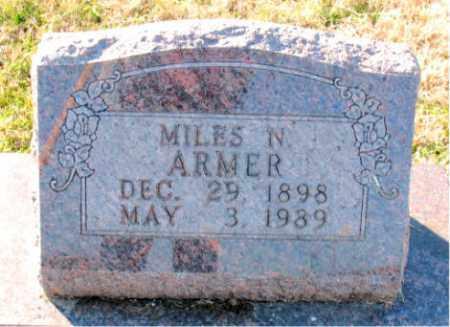 ARMER, MILES  N. - Carroll County, Arkansas   MILES  N. ARMER - Arkansas Gravestone Photos