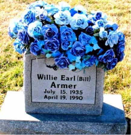 ARMER, WILLIE EARL (BILL) - Carroll County, Arkansas | WILLIE EARL (BILL) ARMER - Arkansas Gravestone Photos