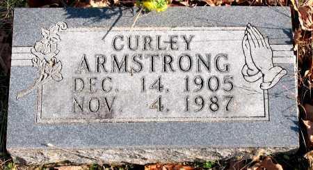 ARMSTRONG, CURLEY - Carroll County, Arkansas | CURLEY ARMSTRONG - Arkansas Gravestone Photos