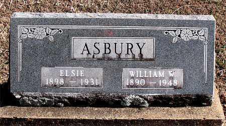 ASBURY, WILLIAM W - Carroll County, Arkansas | WILLIAM W ASBURY - Arkansas Gravestone Photos