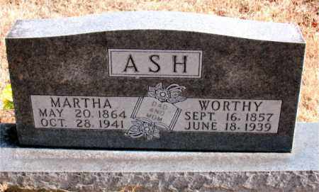 ASH, MARTHA - Carroll County, Arkansas | MARTHA ASH - Arkansas Gravestone Photos