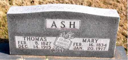 ASH, THOMAS - Carroll County, Arkansas | THOMAS ASH - Arkansas Gravestone Photos