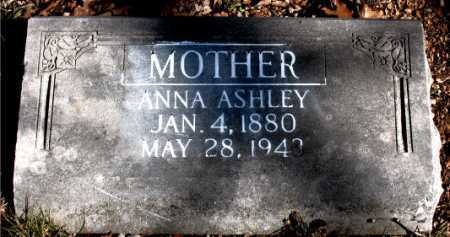 ASHLEY, ANNA - Carroll County, Arkansas | ANNA ASHLEY - Arkansas Gravestone Photos