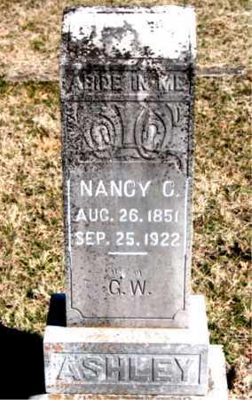 ASHLEY, NANCY C. - Carroll County, Arkansas | NANCY C. ASHLEY - Arkansas Gravestone Photos