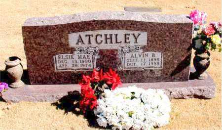 ATCHLEY, ELSIE MAE - Carroll County, Arkansas | ELSIE MAE ATCHLEY - Arkansas Gravestone Photos