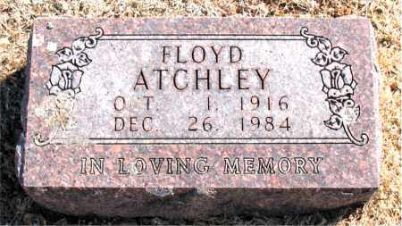ATCHLEY, FLOYD - Carroll County, Arkansas | FLOYD ATCHLEY - Arkansas Gravestone Photos