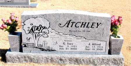 ATCHLEY, G.  INEZ - Carroll County, Arkansas | G.  INEZ ATCHLEY - Arkansas Gravestone Photos