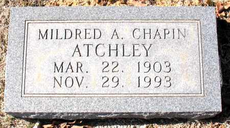 ATCHLEY, MILDRED  A. - Carroll County, Arkansas | MILDRED  A. ATCHLEY - Arkansas Gravestone Photos