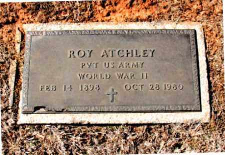 ATCHLEY (VETERAN WWII), ROY - Carroll County, Arkansas | ROY ATCHLEY (VETERAN WWII) - Arkansas Gravestone Photos